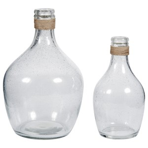 Marcin Clear Glass Vase Set