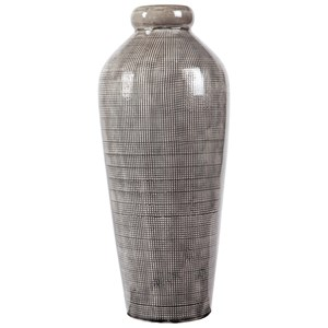 Ashley Signature Design Accents Dilanne Gray Vase