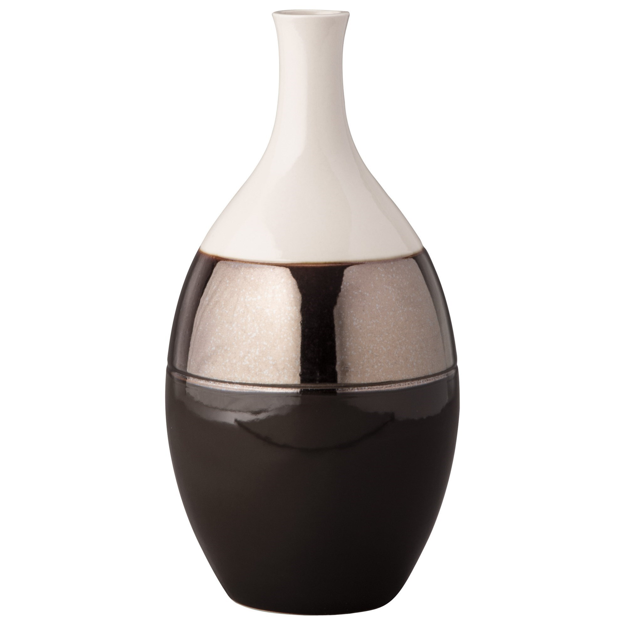 Signature Design by Ashley Accents Dericia Brown/Cream Vase - Item Number: A2000309