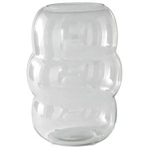 Mabon Clear Glass Vase