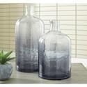 Signature Design by Ashley Accents Maleah Navy Vase Set