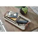 Signature Design by Ashley Accents Joelle Silver Finish Tray