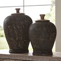 Signature Design by Ashley Accents Barric Antique Black Jar