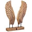 Signature Design by Ashley Accents Branden Natural Sculpture Set