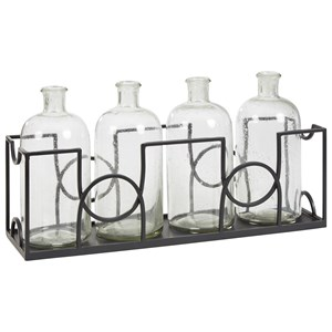 Dmitri Clear/Black Accessory Set