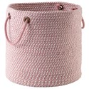 Signature Design by Ashley Accents Eider Pink Basket - Item Number: A2000429