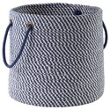 Signature Design by Ashley Accents Eider Navy Basket - Item Number: A2000430