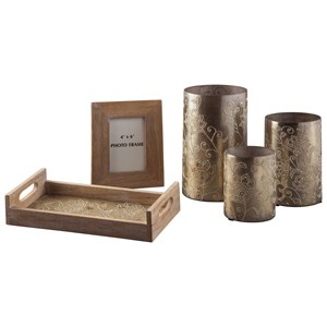 Signature Design by Ashley Accents 5-Piece Deward Accessory Set