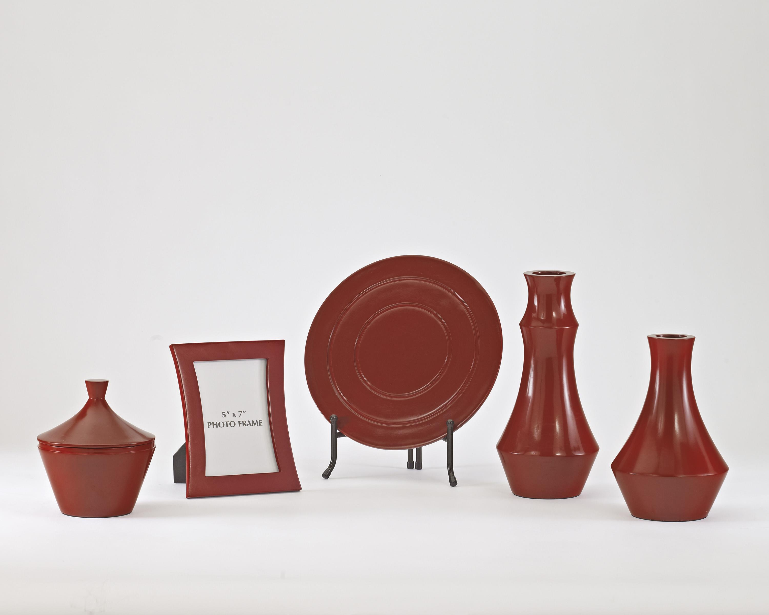 Signature Design by Ashley Furniture Accents Sirilla - Red Accessory Set - Item Number: A2C00105
