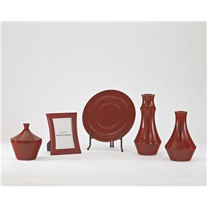 Signature Design by Ashley Furniture Accents Sirilla - Red Accessory Set