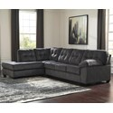 Ashley (Signature Design) Accrington Sectional with Left Chaise - Item Number: 7050916+67