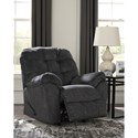 Signature Design by Ashley Accrington Casual Contemporary Rocker Recliner