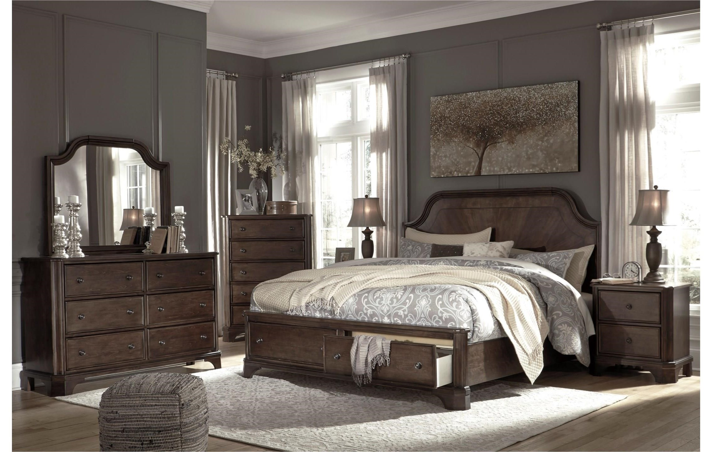 Adinton Queen bedroom group by Signature Design by Ashley at Value City Furniture