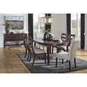 Signature Design by Ashley Adinton Formal Dining Room Group - Item Number: D677 Dining Room Group 2