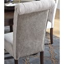 Signature Design by Ashley Adinton Dining Upholstered Side Chair with Tufted Back