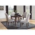 Signature Design by Ashley Adinton 5-Piece Table and Chair Set