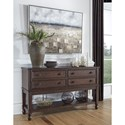 Signature Design by Ashley Adinton Transitional 4-Drawer Dining Room Server