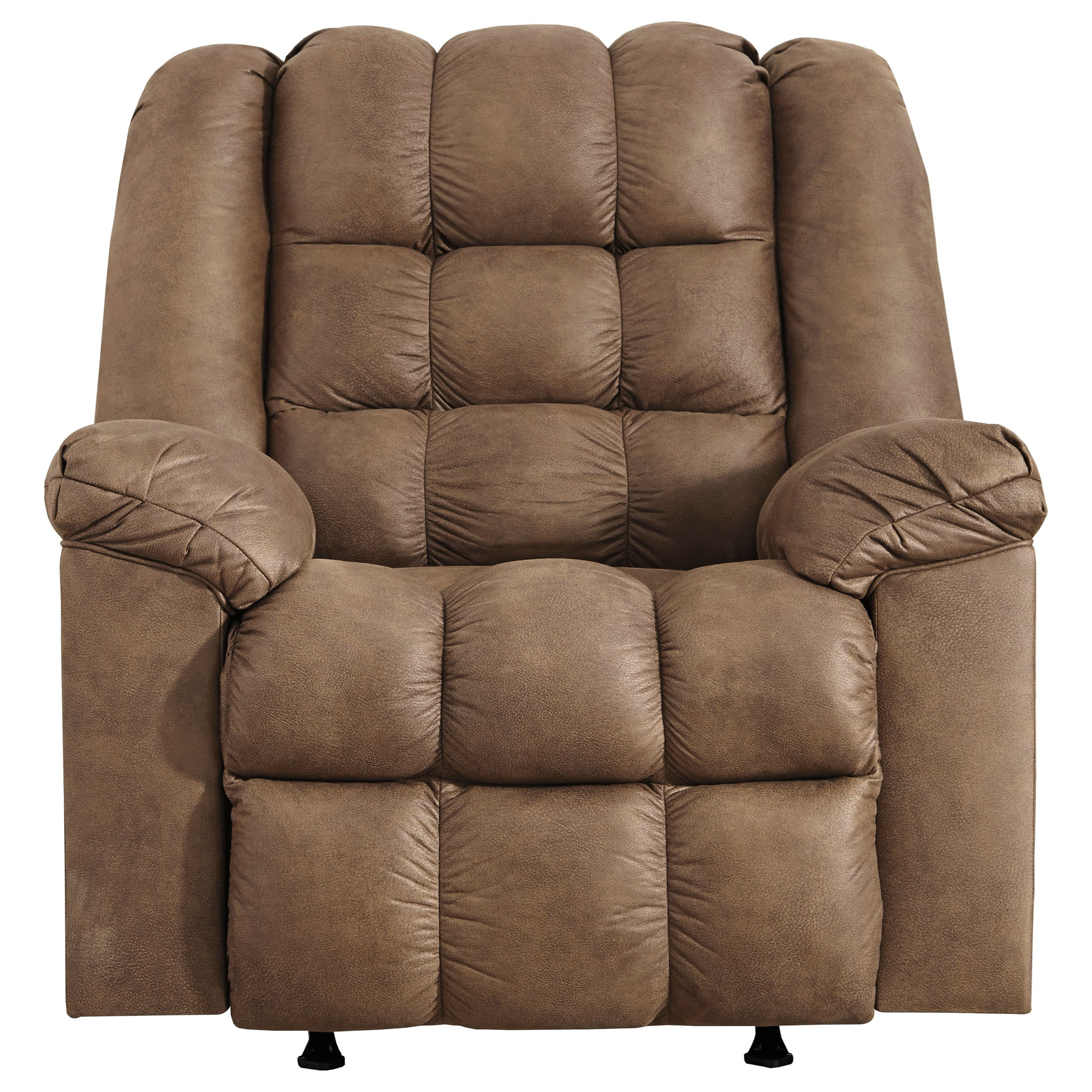 Adrano Rocker Recliner with Heat and Massage by Signature Design by Ashley at Furniture and ApplianceMart