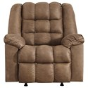 Ashley Signature Design Adrano Rocker Recliner with Heat and Massage - Item Number: 8930225