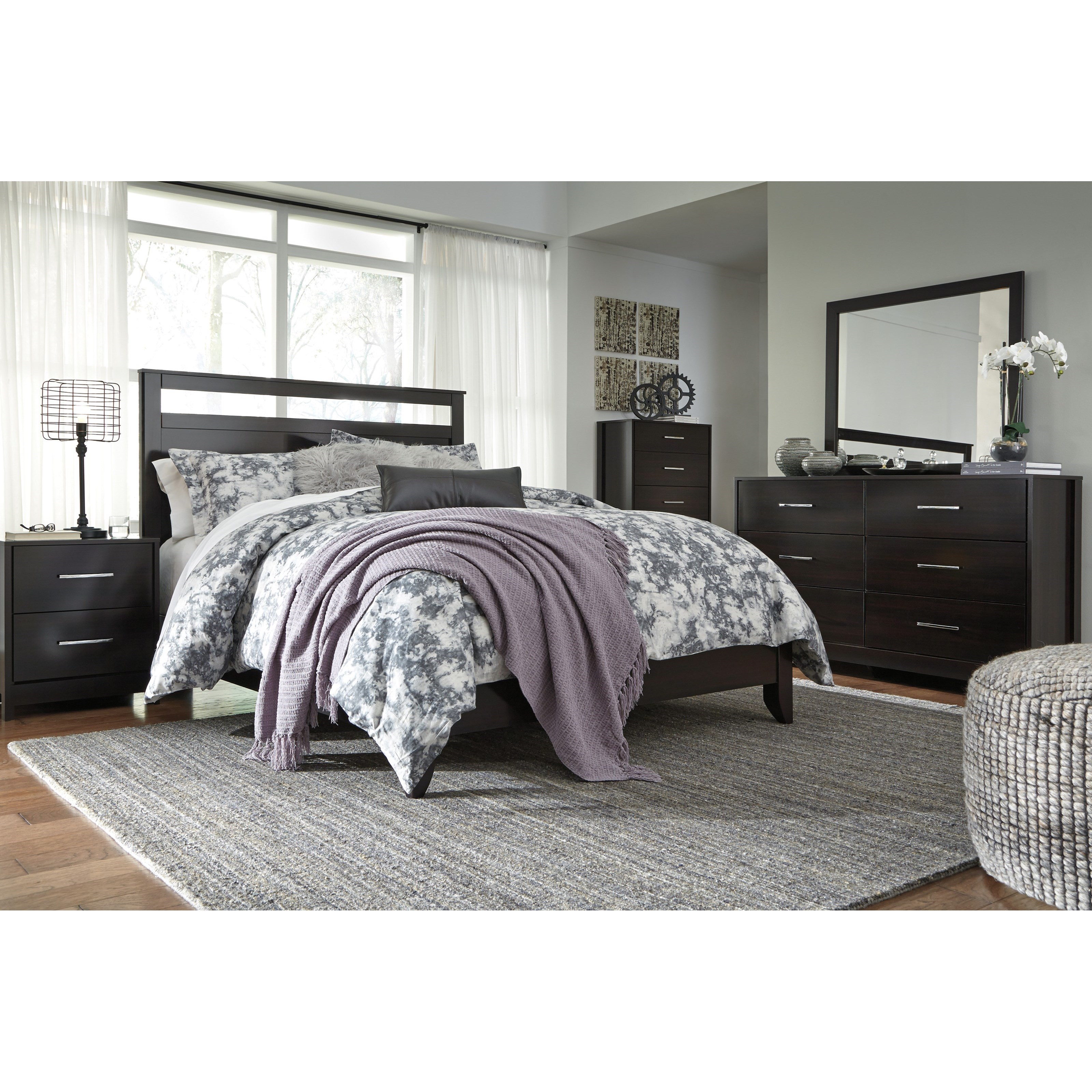 Signature Design by Ashley Agella Queen Bedroom Group - Item Number: B072 Q Bedroom Group 1