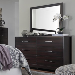 Signature Design by Ashley Agella Dresser & Bedroom Mirror