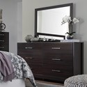 Signature Design by Ashley Agella Dresser & Bedroom Mirror - Item Number: B072-31+36