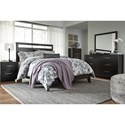 Signature Design by Ashley Agella Contemporary Dresser & Bedroom Mirror