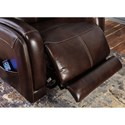 Signature Design by Ashley Ailor Casual Power Recliner with Power Head Rest