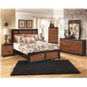 Ashley (Signature Design) Aimwell Queen Bedroom Group - Item Number: B136 Q Bedroom Group 2
