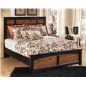 Ashley (Signature Design) Aimwell Queen Panel Bed - Item Number: B136-57+54+96
