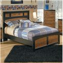 Signature Design by Ashley Aimwell Full Platform Bed - Item Number: B136-87+84+86+B100-12