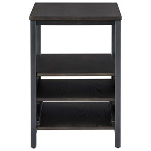 Contemporary Chairside End Table