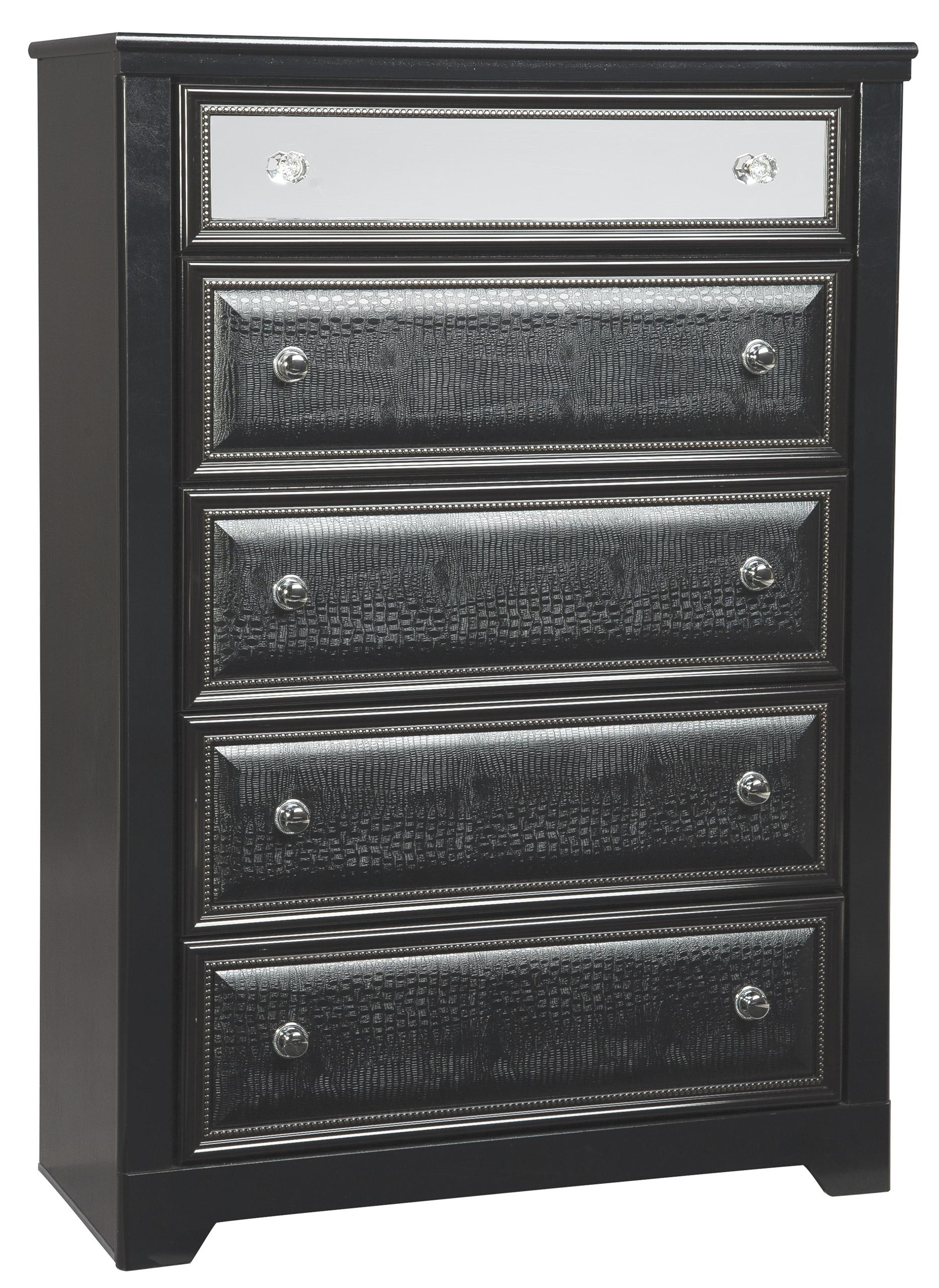 Signature Design by Ashley Furniture Alamadyre 5 Drawer Chest - Item Number: B364-46