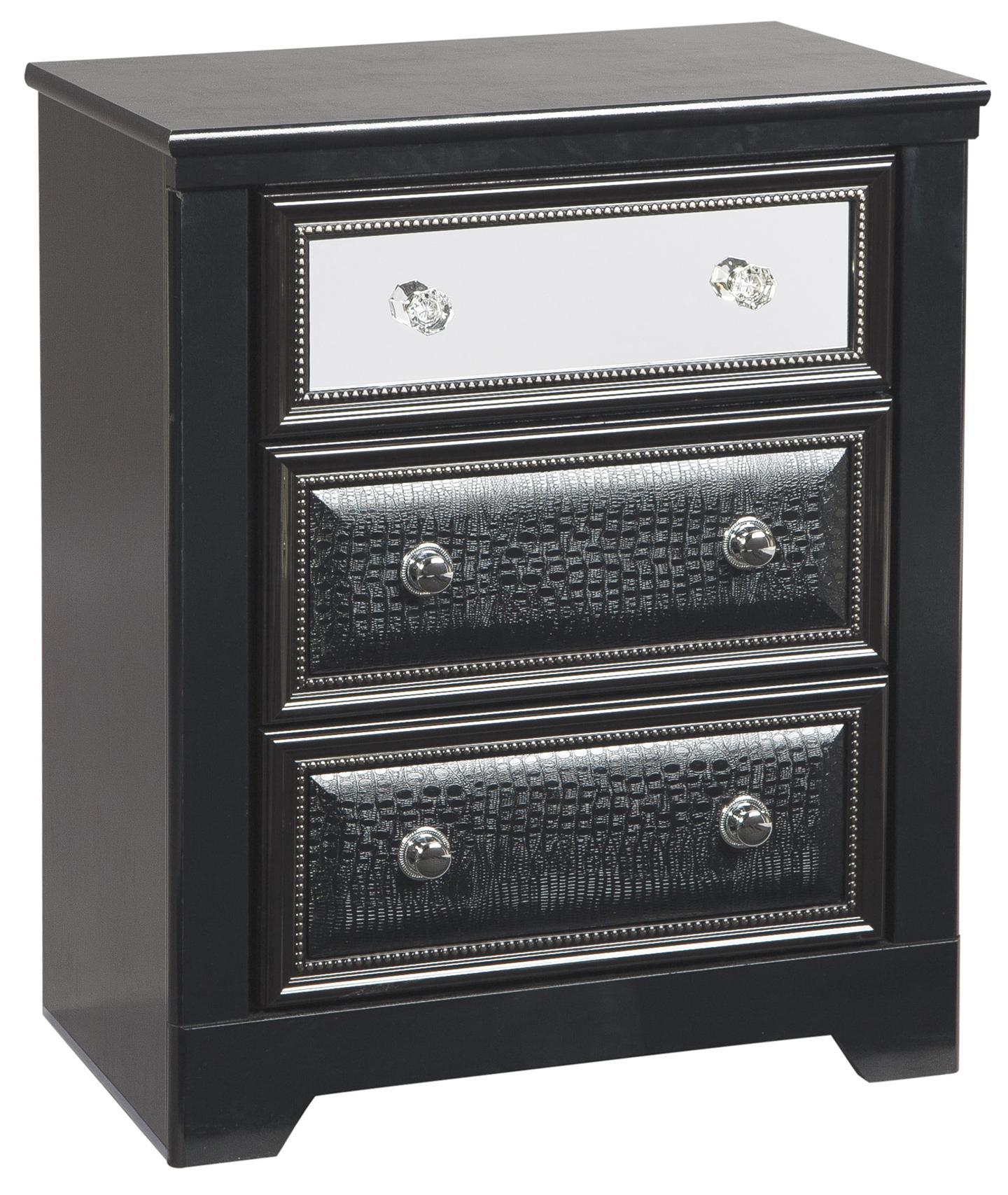 Signature Design by Ashley Alamadyre Three Drawer Night Stand - Item Number: B364-93