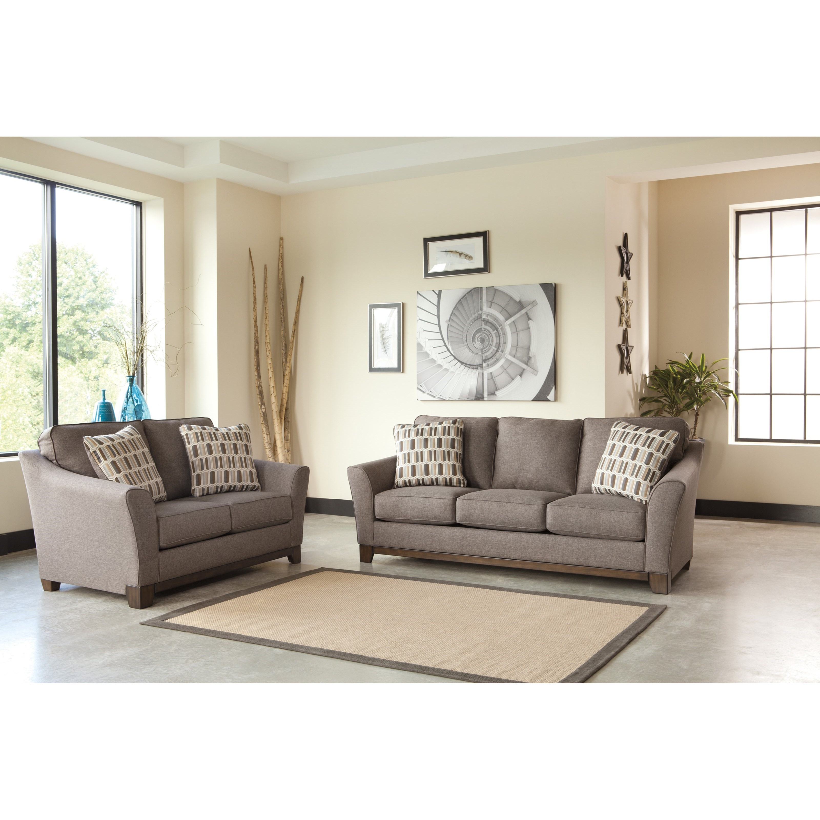 Signature Design by Ashley Alara Stationary Living Room Group - Item Number: 98101 Living Room Group 1