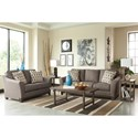 Signature Design by Ashley Alara Contemporary Sofa with Flared Arms