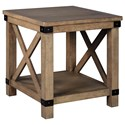 Signature Design by Ashley Aldwin Rectangular End Table - Item Number: T457-3