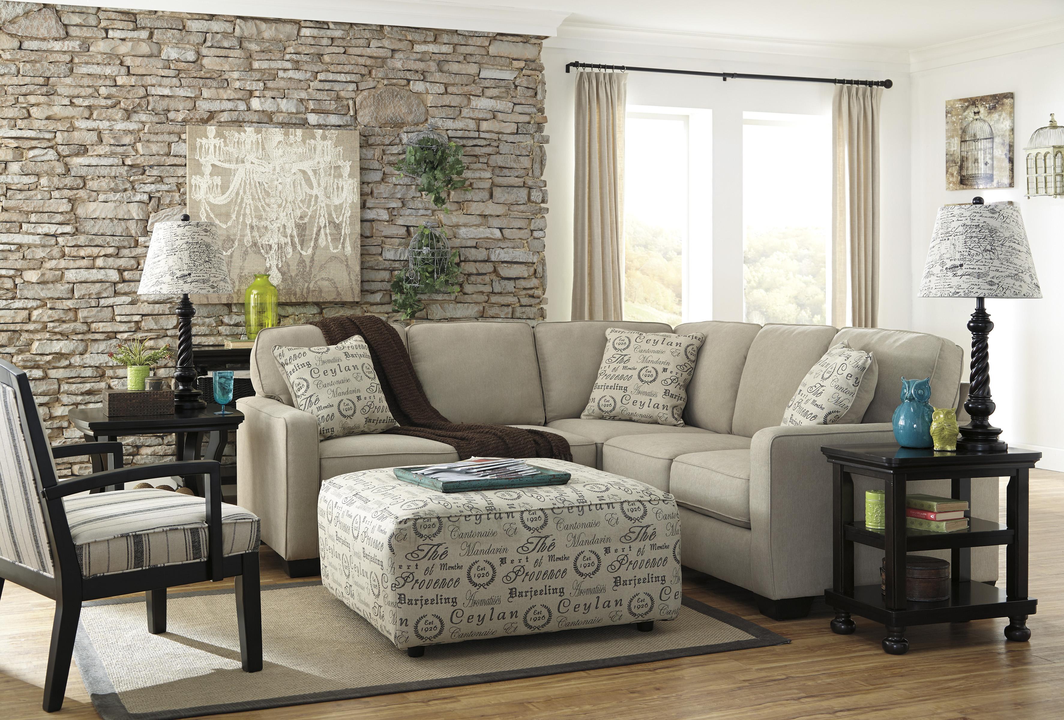 Signature Design by Ashley Furniture Alenya - Quartz Stationary Living Room Group - Item Number: 16600 Living Room Group 11