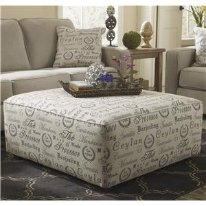 Signature Design by Ashley Furniture Alenya - Quartz Oversized Accent Ottoman