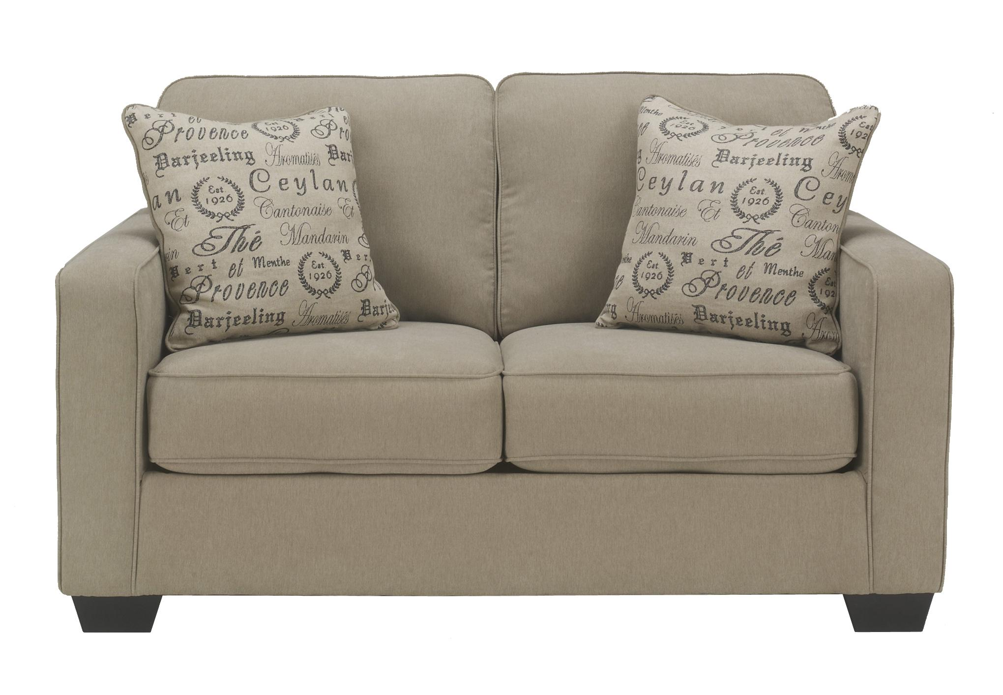 Alenya - Quartz Loveseat by Signature Design by Ashley at Catalog Outlet