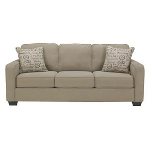 Signature Design by Ashley Furniture Alenya - Quartz Queen Sofa Sleeper