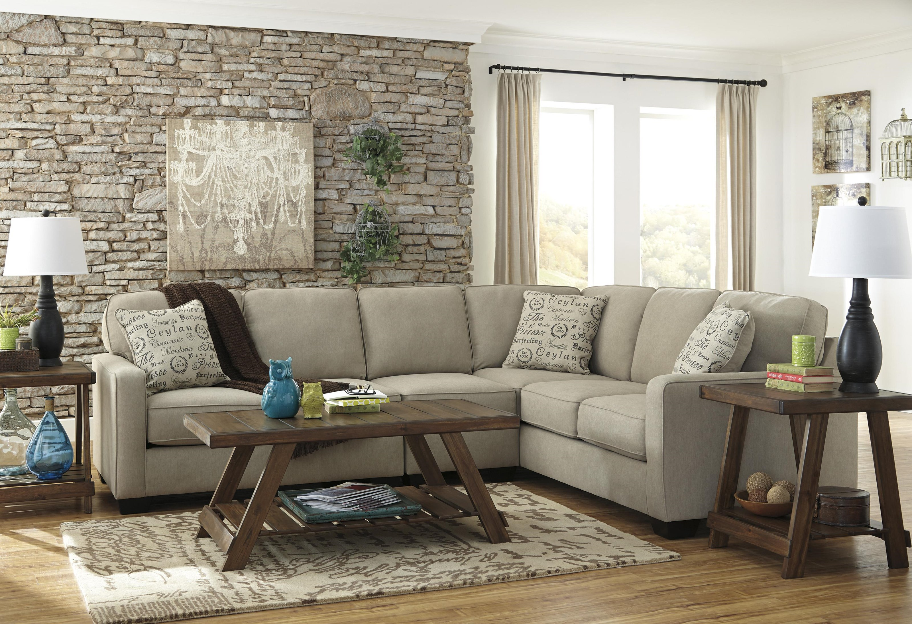 3 PC Sectional and Recliner Set