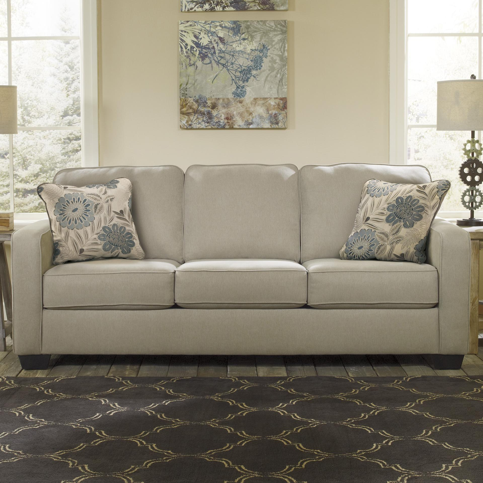 Signature Design by Ashley Furniture Alenya - Khaki Sofa - Item Number: 1669938