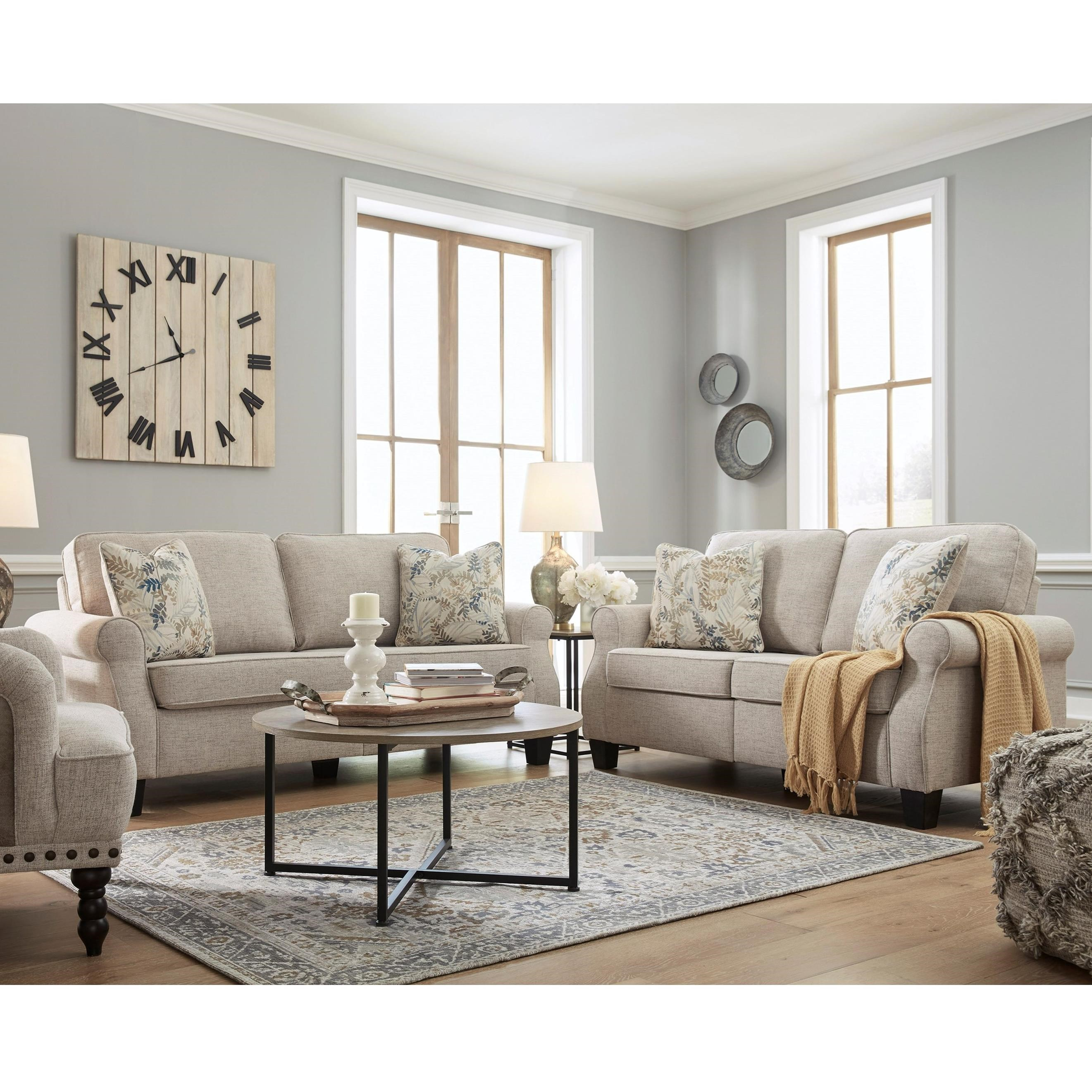 Alessio Living Room Group by Signature Design by Ashley at Home Furnishings Direct