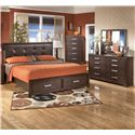 Signature Design by Ashley Aleydis 4 Piece King Bedroom Group - Item Number: B165 K 4 Piece