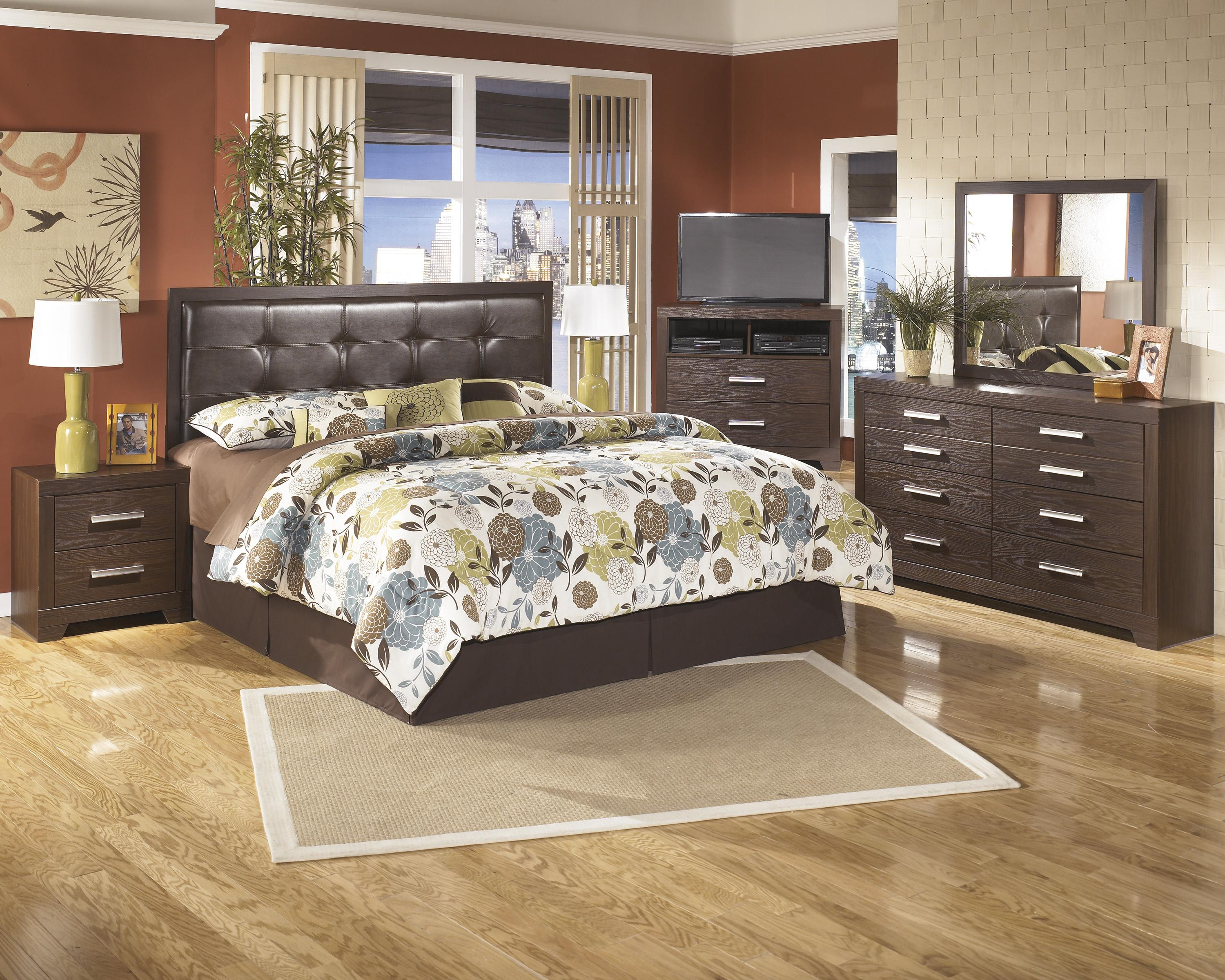 Signature Design by Ashley Aleydis King Bedroom Group - Item Number: B165 K Bedroom Group 1