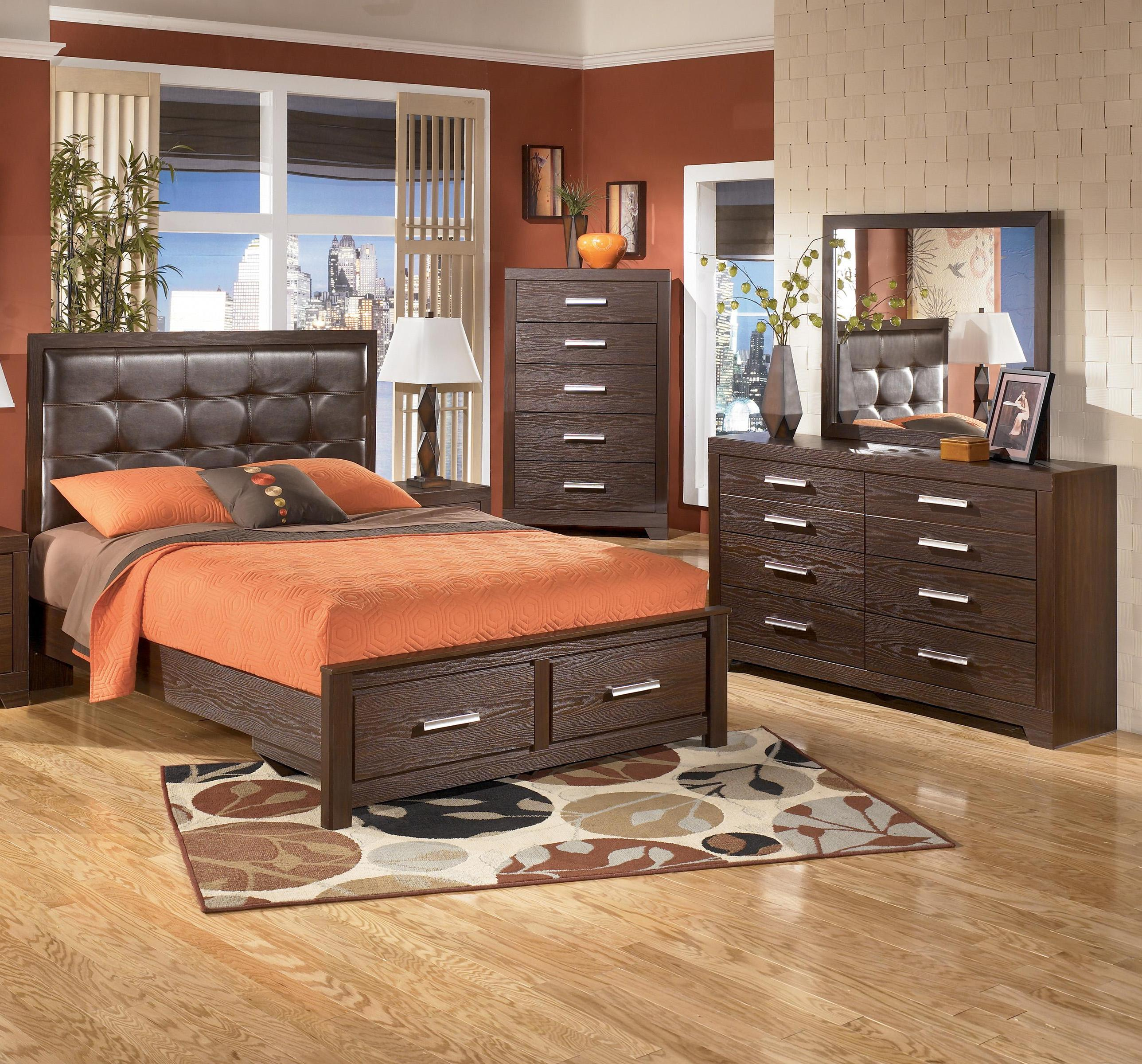 Signature Design by Ashley Aleydis 4 Piece Queen Bedroom Group - Item Number: B165 Q 4 Piece
