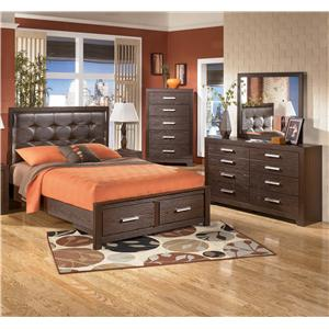 Signature Design by Ashley Furniture Aleydis 4 Piece Queen Bedroom Group