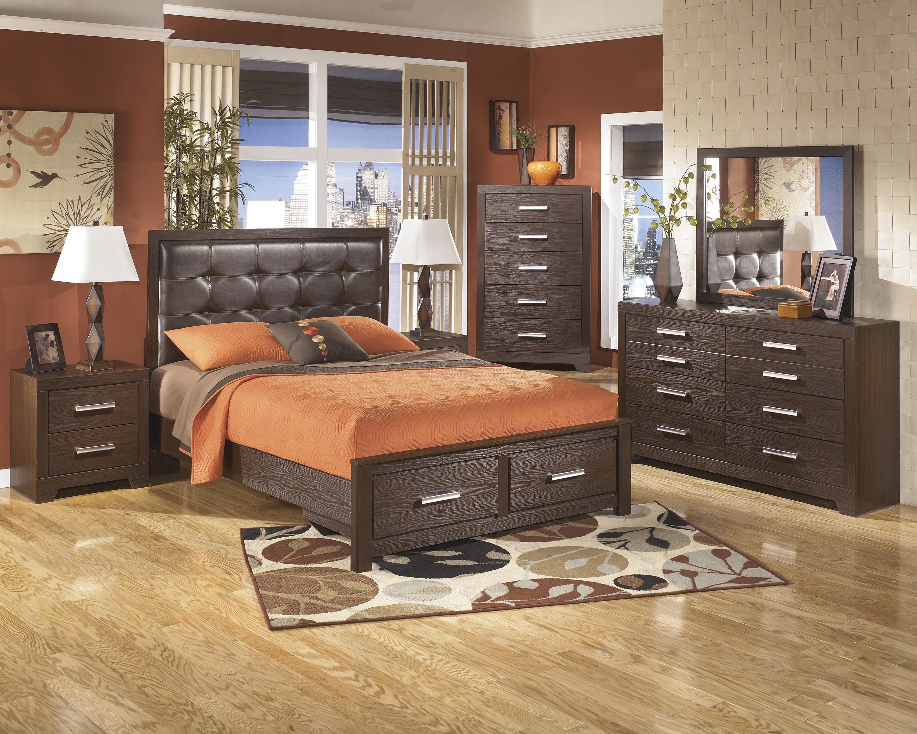 Signature Design by Ashley Aleydis Queen Bedroom Group - Item Number: B165 Q Bedroom Group 2