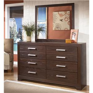 Signature Design by Ashley Furniture Aleydis Dresser & Mirror